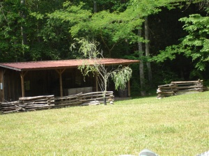 Buchanan's Liveable Replica of Miner's Cabin