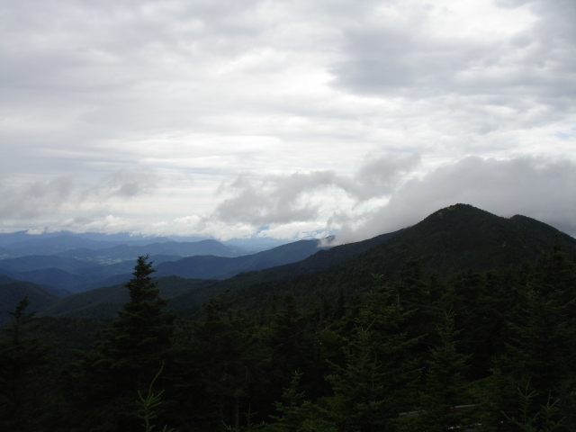 Smoky Mtns southwest of Mt. Mitchell