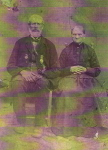 Col. Amous and Tempie Wilkerson Nanney married in 1847 and had thirteen children, the last one in 1871