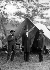 Pinkerton guarding Lincoln