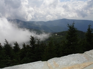 Mt. Mitchell Peak, July 2013