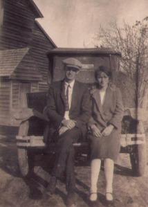 Reginald Nanney and Clara Blankenship