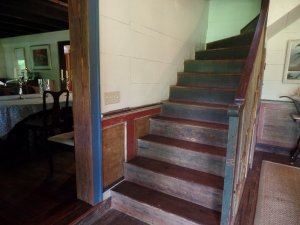 Staircase in Enclosed Dogtrot
