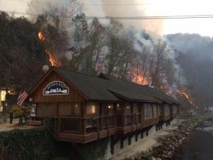 Restaurant in Bryson City, NC, Nantahala Natl Forest
