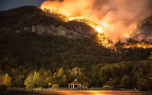 Lake Lure Fire at Party Rock November 13
