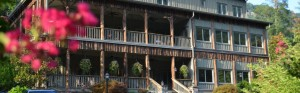 Historic Esmeralda Inn on Lake Lure in Jeopardy from Fire 11-11-16